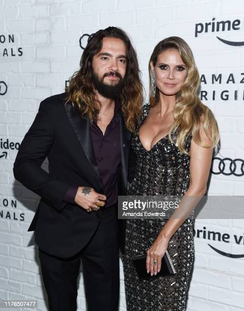 Heidi Klum and Tom Kaulitz arrive at the Amazon Prime Video Post Emmy Awards Party 2019 on September 22 2019 in Los Angeles California