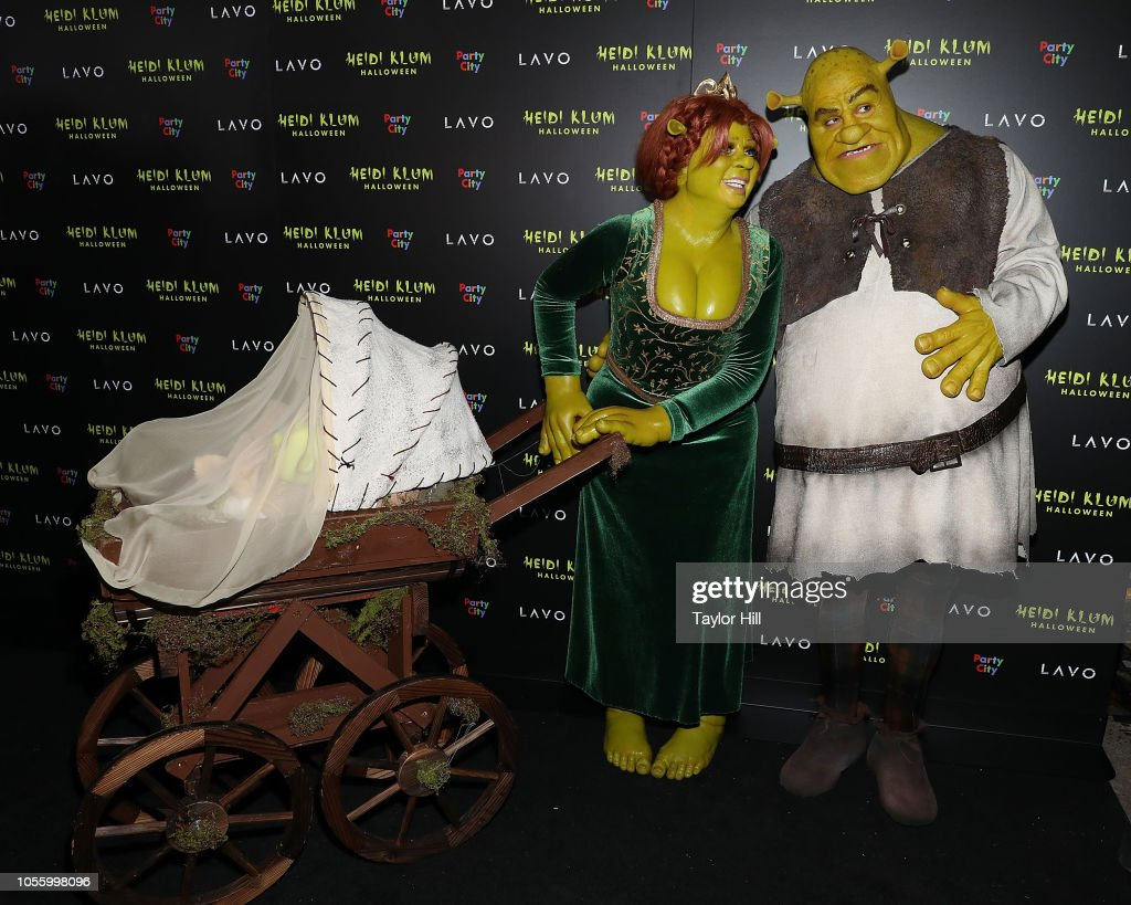 Heidi Klum's 19th Annual Halloween Party : Nyhetsfoto
