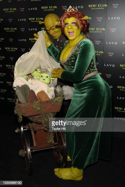 Heidi Klum and Tom Kaulitz attend Heidi Klum's 19th Annual Halloween Party at Lavo on October 31 2018 in New York City