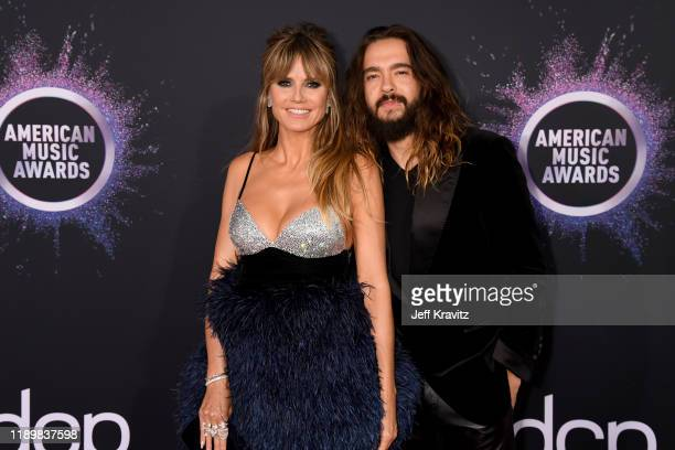 Heidi Klum and Tom Kaulitz attend the 2019 American Music Awards at Microsoft Theater on November 24 2019 in Los Angeles California