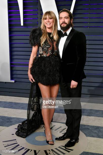 Heidi Klum and Tom Kaulitz attend the 2019 Vanity Fair Oscar Party hosted by Radhika Jones at Wallis Annenberg Center for the Performing Arts on...