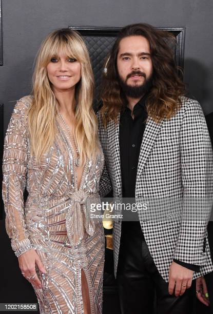 Heidi Klum and Tom Kaulitz attend the 62nd Annual GRAMMY Awards at Staples Center on January 26 2020 in Los Angeles California