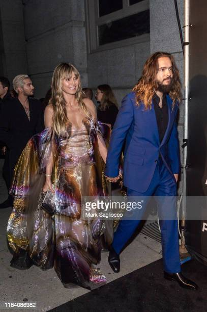 Heidi Klum and Tom Kaulitz attend the Angel Ball 2019 at Cipriani Wall Street on October 28 2019 in New York City