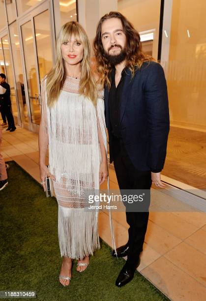 Heidi Klum and Tom Kaulitz attend The Trevor Project's TrevorLIVE LA 2019 at The Beverly Hilton Hotel on November 17 2019 in Beverly Hills California