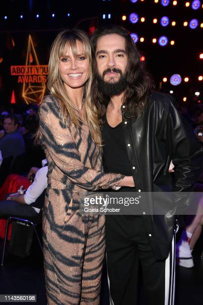 Heidi Klum and Tom Kaulitz during the 3rd ABOUT YOU Awards at Bavaria Studios on April 18 2019 in Munich Germany