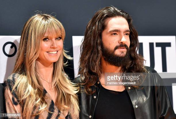 Heidi Klum and Tom Kaulitz during the 3rd ABOUT YOU Awards at Bavaria Studios on April 18, 2019 in Munich, Germany.