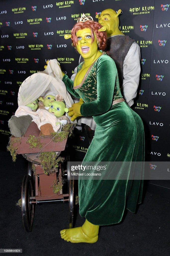 Heidi Klum's 19th Annual Halloween Party : News Photo