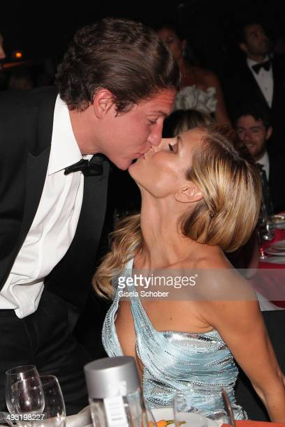 Heidi Klum and Vito Schnabel attend amfAR's 21st Cinema Against AIDS Gala Presented By WORLDVIEW BOLD FILMS And BVLGARI at Hotel du CapEdenRoc on May...