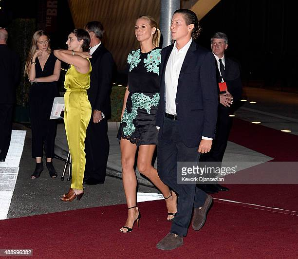 Heidi Klum and Vito Schnabel attend The Broad museum's inaugural celebration September 18 in Los Angeles California