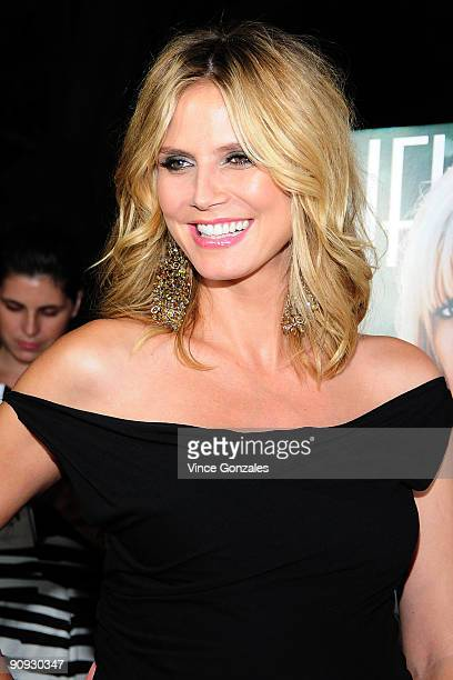 Heidi Klum arrives at Los Angeles Confidential magazine's annual pre-Emmy party, hosted by Heidi Klum and Niche Media CEO Jason Binn, held at a...