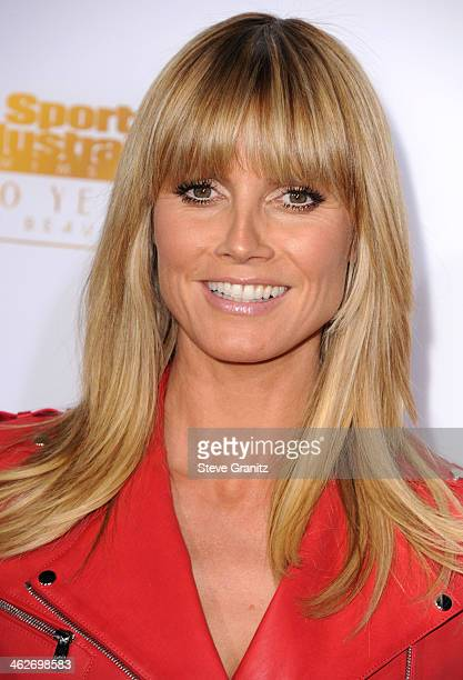 Heidi Klum arrives at the NBC And Time Inc 50th Anniversary Celebration Of Sports Illustrated Swimsuit Issue Hosted By Heidi Klum at Dolby Theatre on...