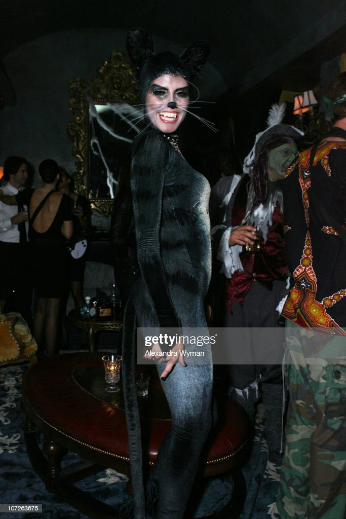 Heidi Klum at her Halloween Party held at The Green Door on October 31, 2007 in Hollywood, California.