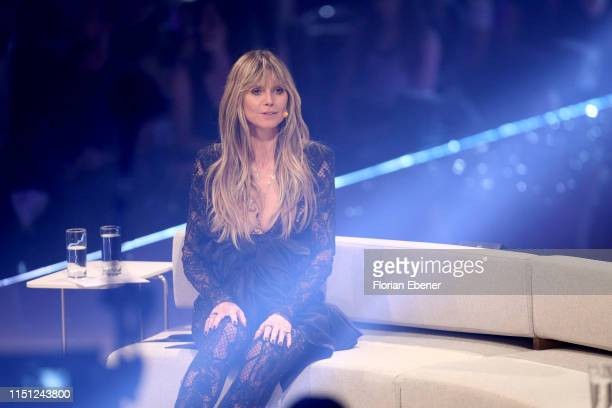 Heidi Klum at the Germany's Next Top Model finals at ISS Dome on May 23 2019 in Duesseldorf Germany
