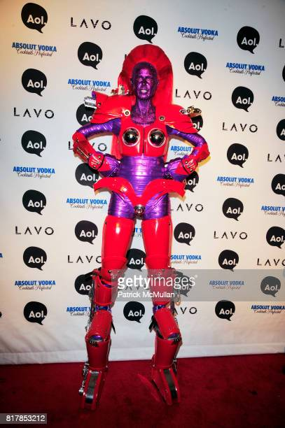 Heidi Klum attend AOL presents HEIDI KLUM's Annual Halloween Party at LAVO on October 31st 2010 in New York City