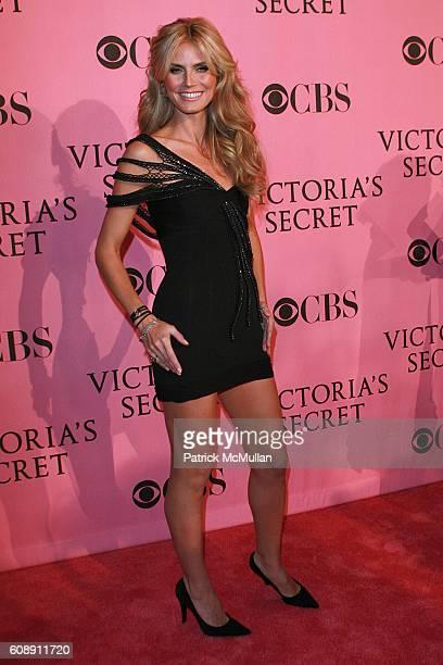 Heidi Klum attends 12th Annual Victoria Secret Fashion Show Arrivals at Kodak Theater on November 15 2007 in Hollywood CA