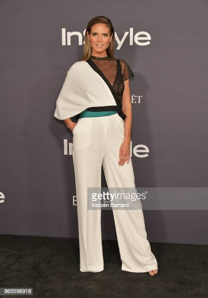 Heidi Klum attends 3rd Annual InStyle Awards at The Getty Center on October 23 2017 in Los Angeles California