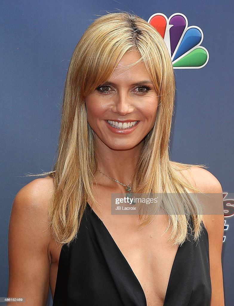 Heidi Klum attends 'America's Got Talent' Red Carpet Event held at the Dolby Theater on April 22, 2014 in Los Angeles, California.