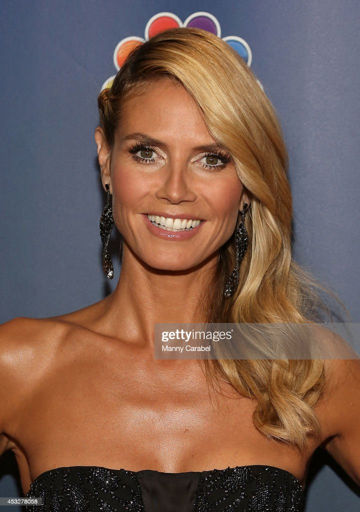 Heidi Klum attends 'America's Got Talent' season 9 post show red carpet event at Radio City Music Hall on August 6, 2014 in New York City.