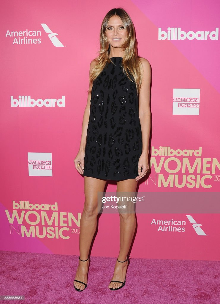 Heidi Klum attends Billboard Women In Music 2017 at The Ray Dolby Ballroom at Hollywood & Highland Center on November 30, 2017 in Hollywood, California.