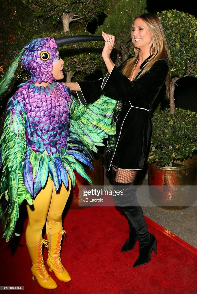Heidi Klum attends Cirque du Soleil presents the Los Angeles premiere event of u0027Luziau0027  sc 1 st  Getty Images & Cirque du Soleil Presents The Los Angeles Premiere Event Of