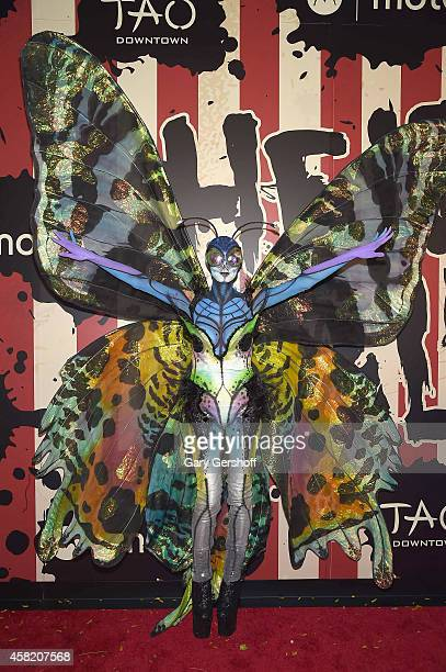 Heidi Klum attends 'Heidi Klum's 15th Annual Halloween Party' at TAO Downtown on October 31 2014 in New York City