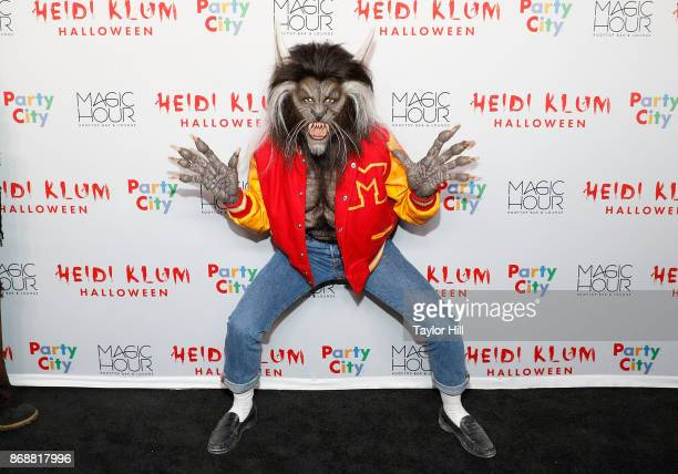 Heidi Klum attends Heidi Klum's 18th Annual Halloween Party at Magic Hour Rooftop Bar Lounge on October 31 2017 in New York City