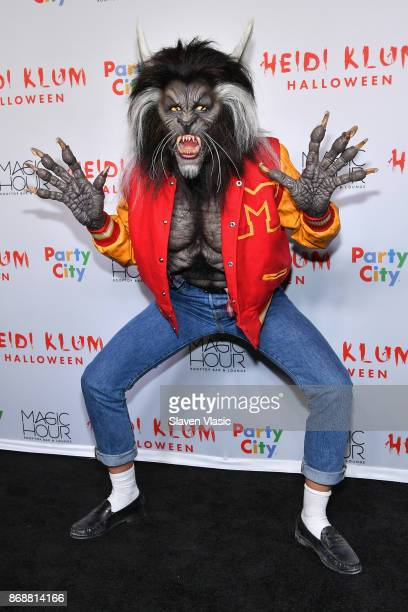 Heidi Klum attends Heidi Klum's 18th annual Halloween Party presented by Party City at the Magic Hour Rooftop Bar Lounge on October 31 2017 in New...