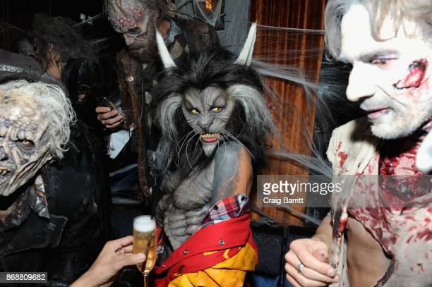 Heidi Klum attends Heidi Klum's 18th Annual Halloween Party sponsored by Party City and SVEDKA Vodka at Magic Hour at Moxy Times Square on October 31...