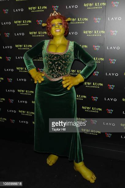 Heidi Klum attends Heidi Klum's 19th Annual Halloween Party at Lavo on October 31 2018 in New York City