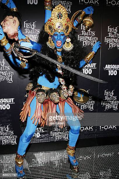 Heidi Klum attends Heidi Klum's 9th annual Halloween party at 1 OAK on October 31 2008 in New York City