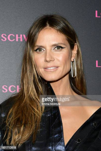 Heidi Klum attends Lorraine Schwartz launches The Eye Bangle a new addition to her signature Against Evil Eye Collection at Delilah on March 13 2018...