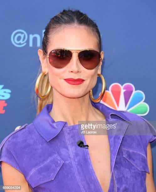 Heidi Klum attends NBC's 'America's Got Talent' Season 12 Kickoff on March 27 2017 in Pasadena California
