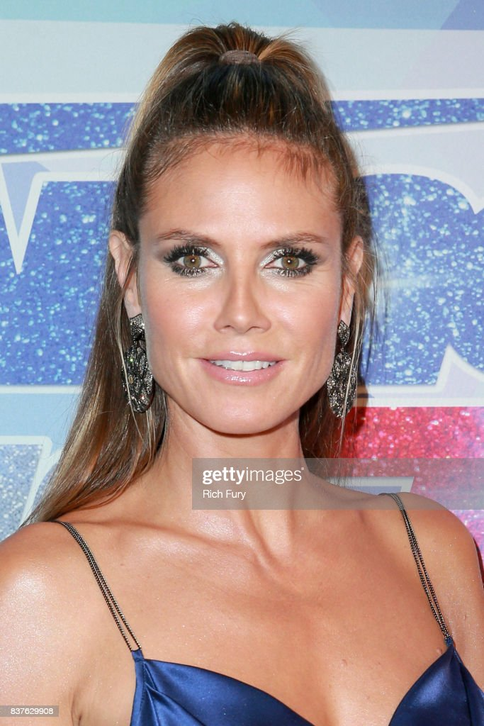 Heidi Klum attends NBC's 'America's Got Talent' Season 12 Live Show at Dolby Theatre on August 22, 2017 in Hollywood, California.