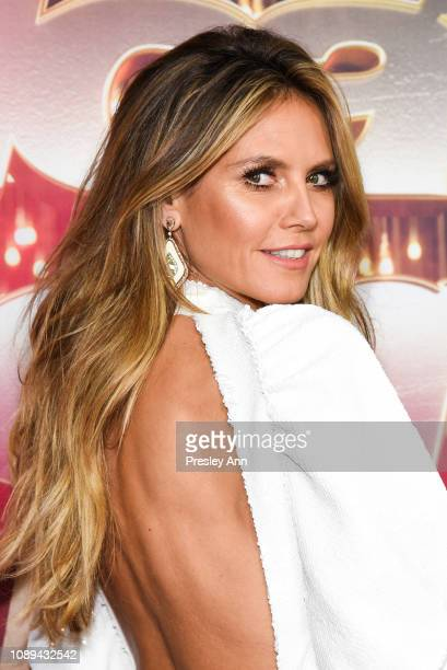 "Heidi Klum attends NBC's ""America's Got Talent: The Champions"" at Sheraton Pasadena Hotel on October 10, 2018 in Pasadena, California."