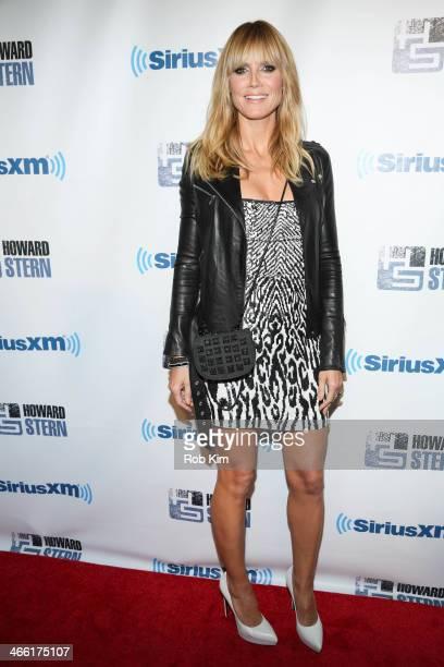 Heidi Klum attends SiriusXM's 'Howard Stern Birthday Bash' at Hammerstein Ballroom on January 31 2014 in New York City