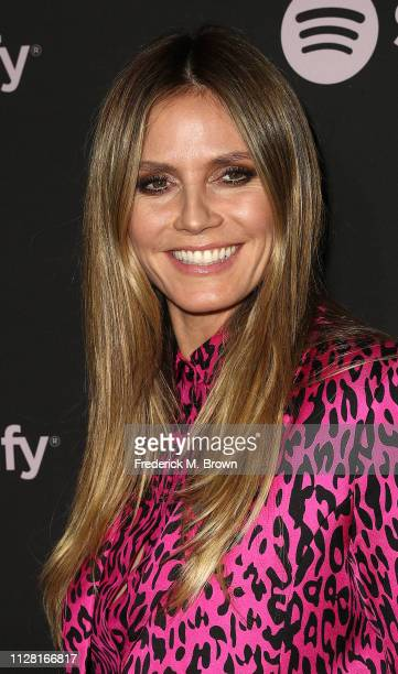 Heidi Klum attends Spotify's Best New Artist Party at the Hammer Museum on February 07 2019 in Los Angeles California