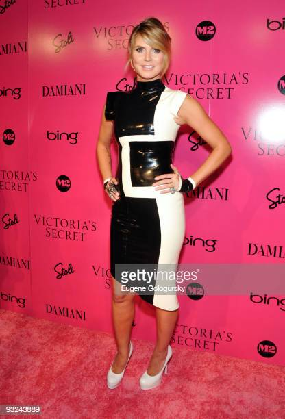 Heidi Klum attends the 2009 Victoria's Secret fashion show after party at M2 Ultra Lounge on November 19 2009 in New York City