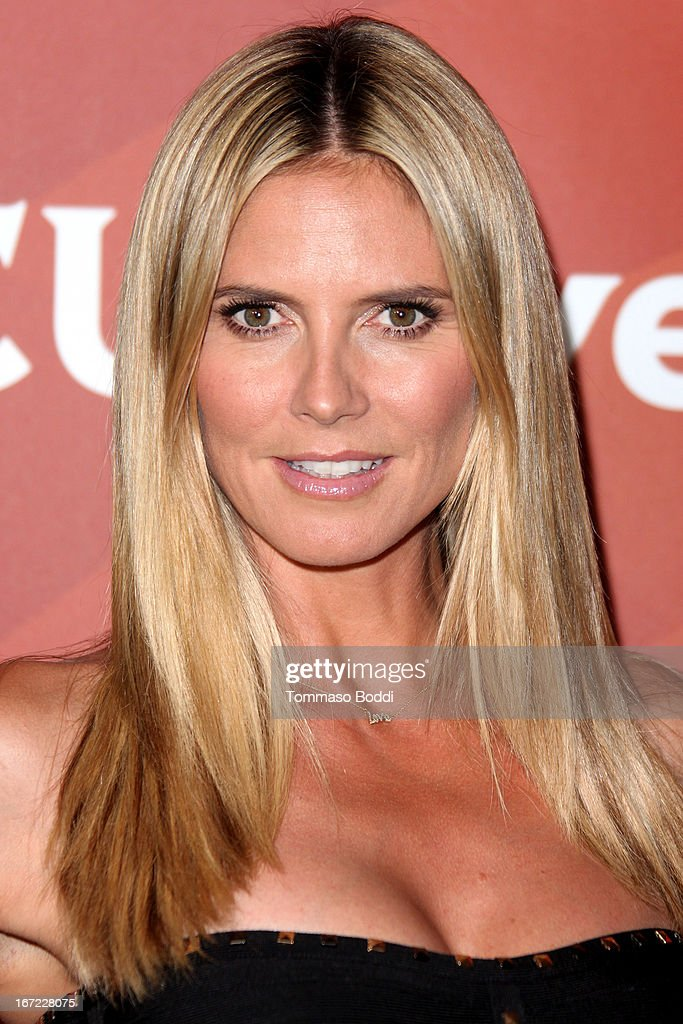 Heidi Klum attends the 2013 NBC Summer Press Day held at The Langham Huntington Hotel and Spa on April 22, 2013 in Pasadena, California.