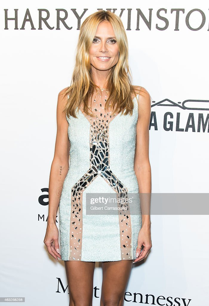 heidi klum attends the 2015 amfar new york gala at cipriani wall photo d 39 actualit getty images. Black Bedroom Furniture Sets. Home Design Ideas