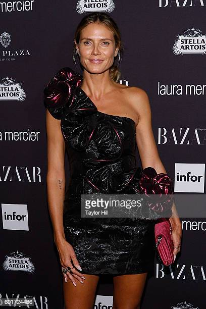 Heidi Klum attends the 2016 Harper ICONS Party at The Plaza Hotel on September 9, 2016 in New York City.