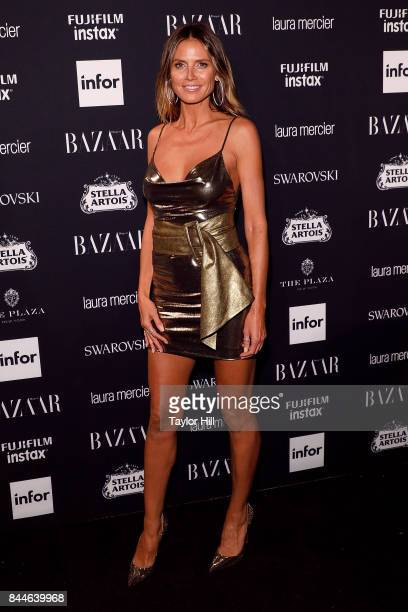 Heidi Klum attends the 2017 Harper ICONS party at The Plaza Hotel on September 8, 2017 in New York City.