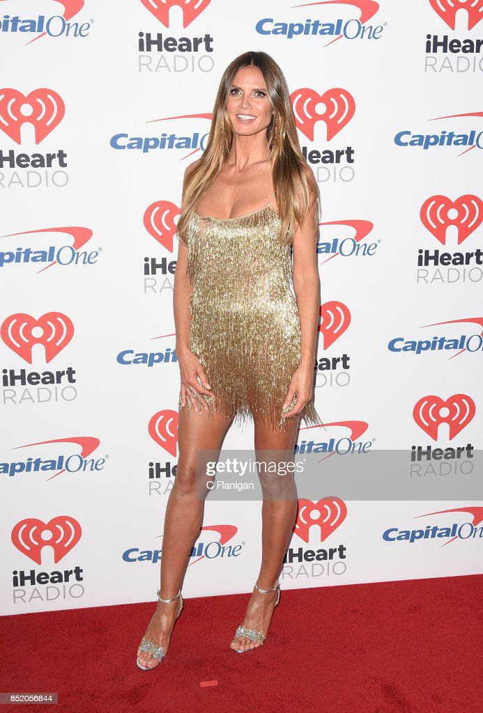 Heidi Klum attends the 2017 iHeartRadio Music Festival at T-Mobile Arena on September 22, 2017 in Las Vegas, Nevada.
