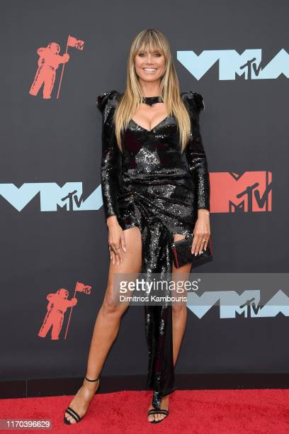 Heidi Klum attends the 2019 MTV Video Music Awards at Prudential Center on August 26, 2019 in Newark, New Jersey.