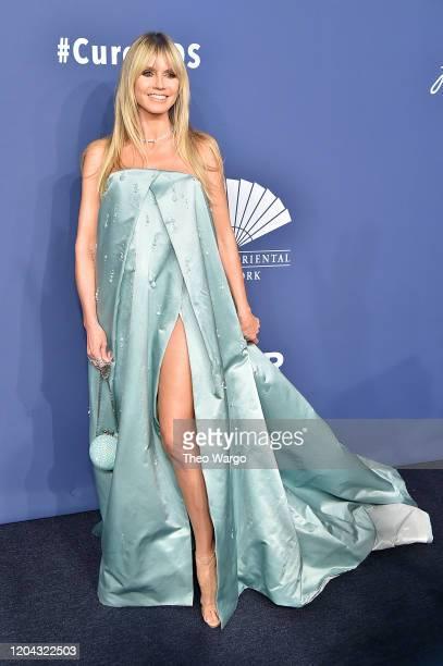 Heidi Klum attends the 2020 amfAR New York Gala on February 05, 2020 in New York City.