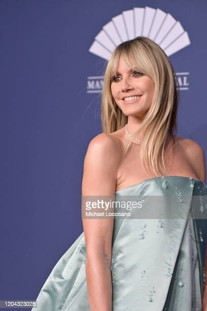 Heidi Klum attends the 2020 amfAR New York Gala on February 05 2020 in New York City