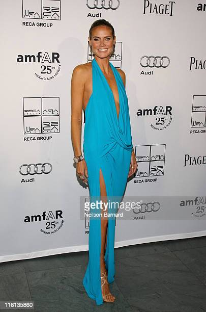 Heidi Klum attends the 2nd Annual amfAR Inspiration Gala at The Museum of Modern Art on June 14 2011 in New York City
