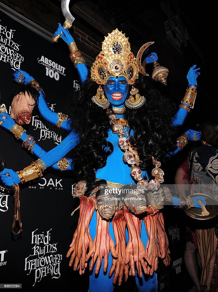 Heidi Klum attends the Absolut 100 and Heidi Klum's Halloween Party at 1 Oak on October 31, 2008 in New York City.