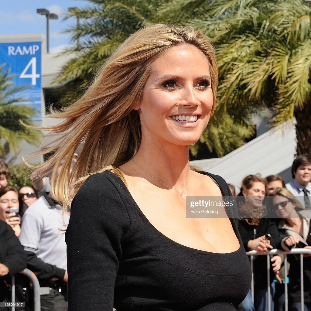 Heidi Klum attends the 'America's Got Talent' New Orleans auditions as a judge at UNO Lakefront Arena on March 4, 2013 in New Orleans, Louisiana.