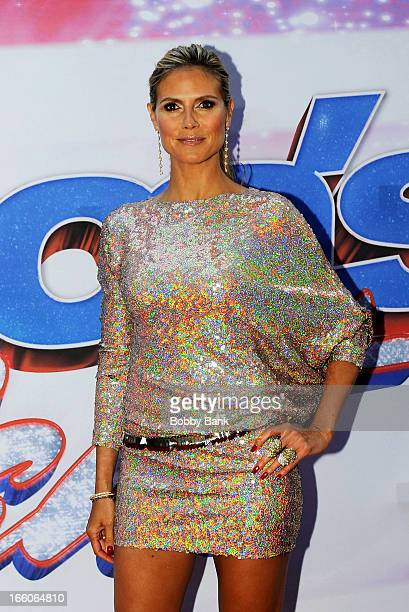 Heidi Klum attends the America's Got Talent New York Auditions at Rockefeller Center on April 8 2013 in New York City