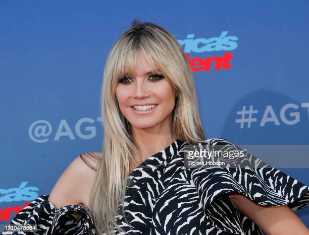 Heidi Klum attends the America's Got Talent Season 15 Kickoff at Pasadena Civic Auditorium on March 04 2020 in Pasadena California